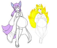 Keiko and Seiko by ER-Chan