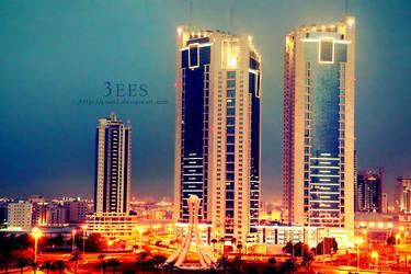 Lighting city ... by aoao2