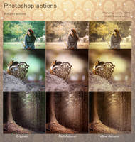 Autumn Photoshop Actions by aoao2
