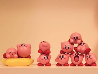 Kirby Mass Attack by aoao2