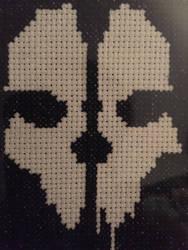 Bone-Head Cross Stitch by Hafniums