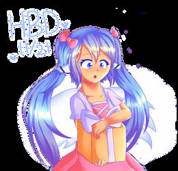 happy birthday nymph! by nyakka