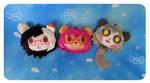 .: Custom Fursona Heads:. by Angeru-Charms