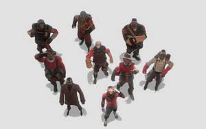Red Squad by AgentVigilante