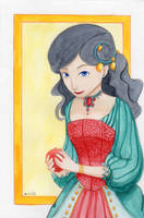 Blanche-Neige by LaSentinelle