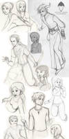 Croquis by LaSentinelle