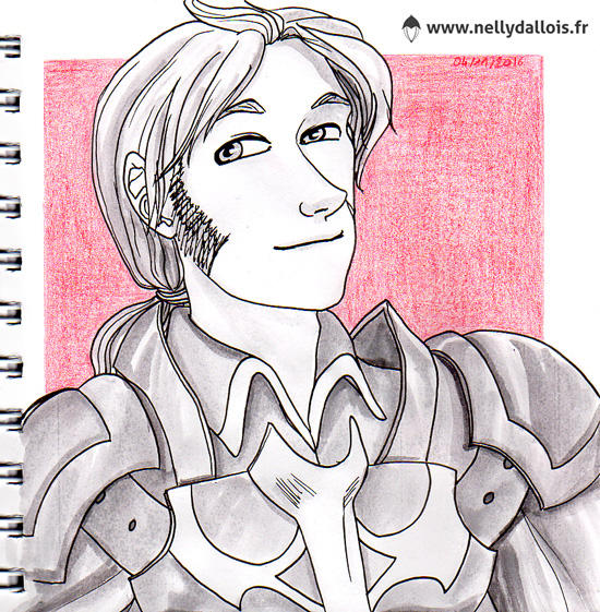 Pas inktober - 21 - Kelwin by LaSentinelle