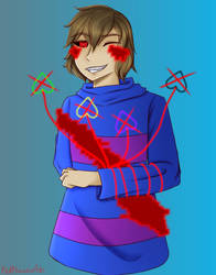 {C} LOVETale Frisk by RedPhoenixAsh