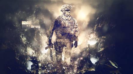 MW2 'War is a Drug' Wallpaper by MarkyDMan