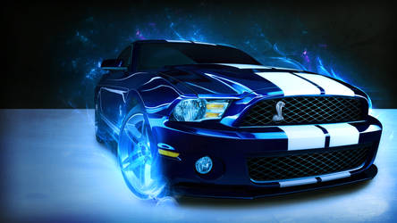 Shelby Mustang 1080p Wallpaper by MarkyDMan