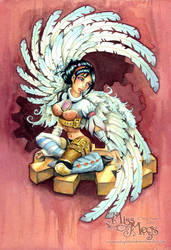 Steampunk Angel by Meggyb