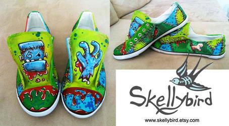 Frankenshoes by Meggyb