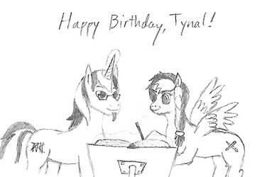 Tynal's Birthday Present by Uri-the-Espeon