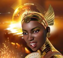 Bitcoin Close Up by Hera-of-Stockholm