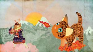 The Rainbow Samurai by Tijgerkat