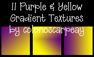 Purple and Yellow Textures by colonoscarpeay