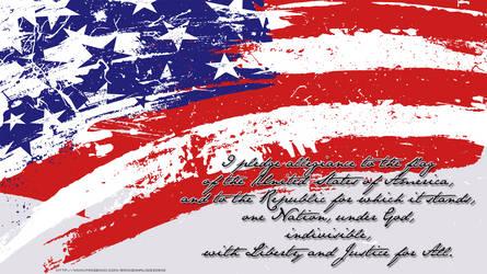 Pledge Wallpaper by colonoscarpeay