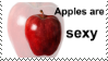 Apples are sexy [stamp] // f2u by TaniPoniBoi