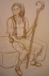 Arinel (pencils) by LENAcomics