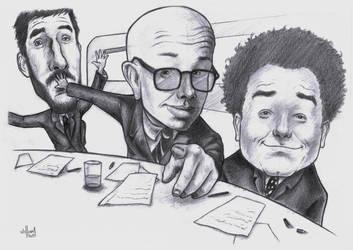 CQC caricatura by WilliamGioachino