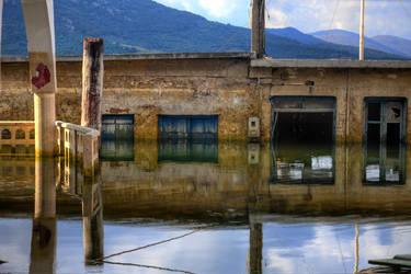 Sfentyli , the sunken town  HDR by AmmarkoV1
