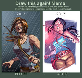 Draw This Again - Tomb Raider Reborn Contest by tonton-jojo