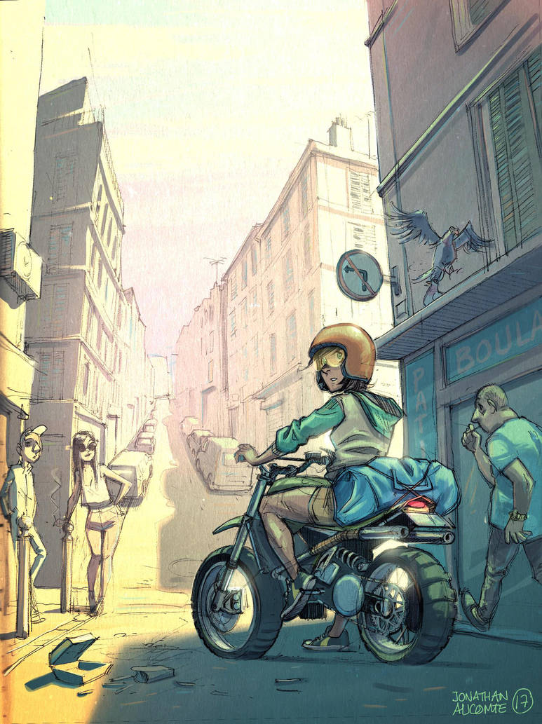 Lost in the streets of Marseille by tonton-jojo