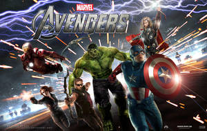 The Avengers Movie Wallpaper 3 by estogarza