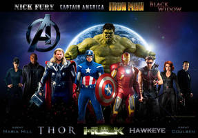 Avengers Movie Wallpaper 4.0 by estogarza