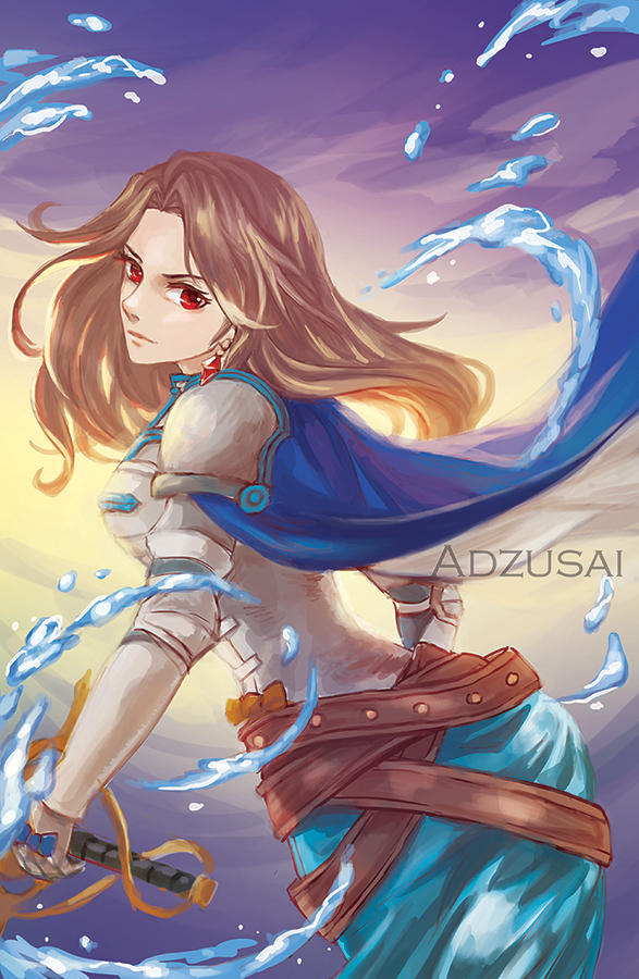 Katalina by AngelofDeathz