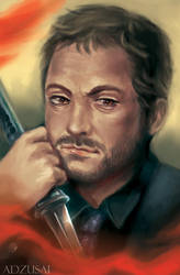 Crowley by AngelofDeathz