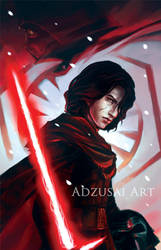 Kylo Ren v.2 by AngelofDeathz