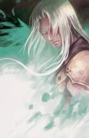 Sephiroth by AngelofDeathz