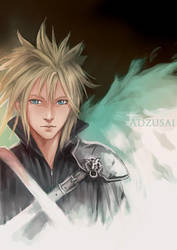 Cloud Strife by AngelofDeathz