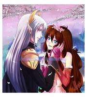 Commission - Romance by Nardhwen