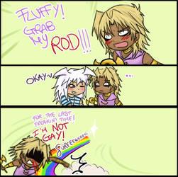 Grab my Rod . Bakura and Marik by ManaSaya