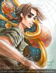 Sail the Sky -- Jim Hawkins by Disney-Funker