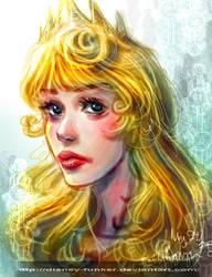 Aurora's Head :P by Disney-Funker