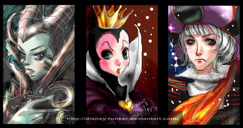 Disney Villain paintBBS log by Disney-Funker