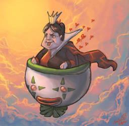 Bowser Queen of Hearts lol by Disney-Funker