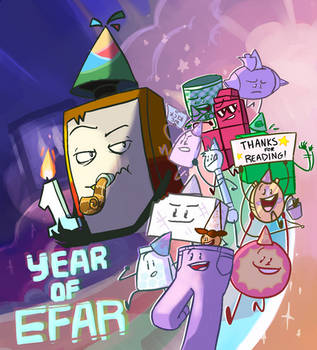 1 year EFARversary by Punch-Holer