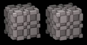 Thue-Morse cube by markdow