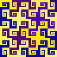 Brigid's galaxies tessellation by markdow