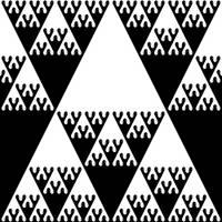 Sierpinski drips by markdow
