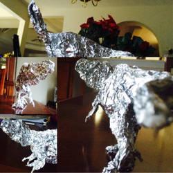 Nanuqsaurus Aluminum foil by Franchescco