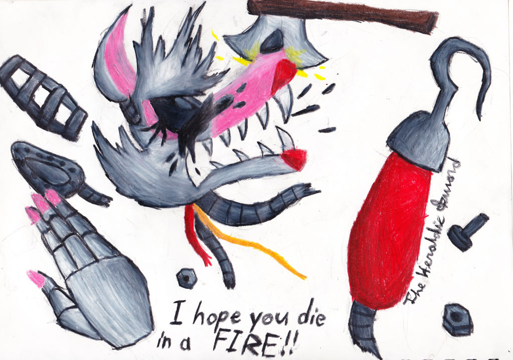 Stop It Fnaf 2 Mangle Fanart By The Heraldic Sword On – Fondos de
