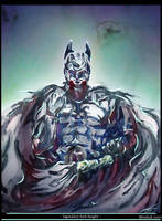 the legendary dark knight by toubab