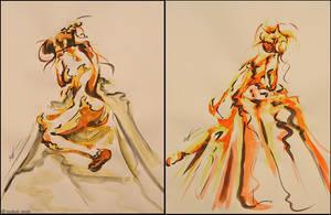 nue de femmes 3-3 by toubab