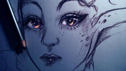 the Elf eyes by ryky