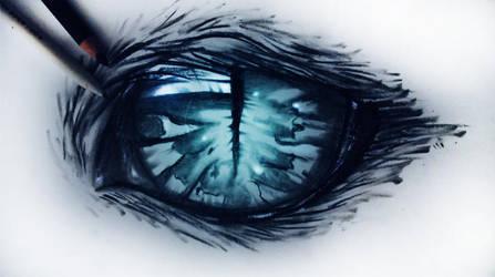 Cheshire cat eye by ryky
